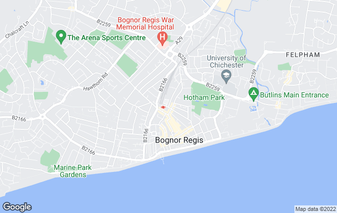 Map for A & C Letting Agents, Bognor Regis