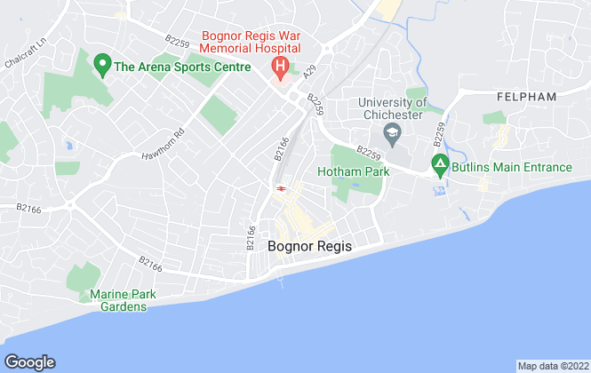 Map for Interlet (Sussex) Ltd, Bognor Regis