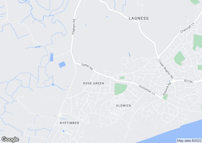 Map for KINGSVILLE at Rosewood, Rose Green Road,