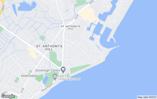 Map for Taylor Dain, Eastbourne