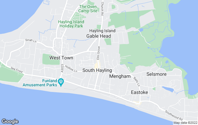 Map for Morris Dibben, Hayling Island