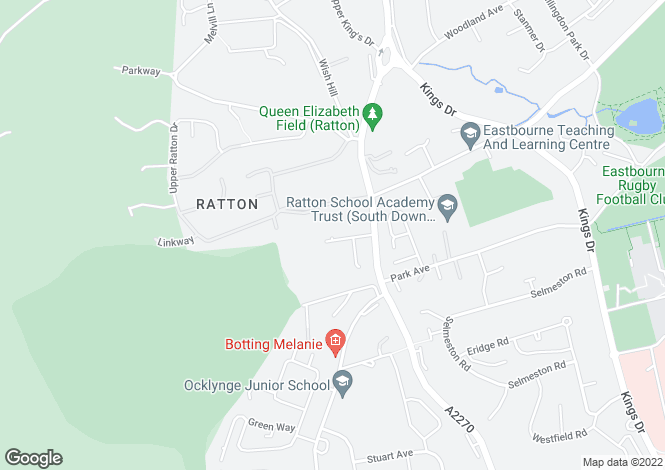 Map for RATTON BORDERS