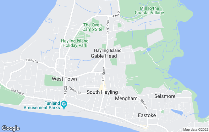 Map for Arden & Way, Hayling Island