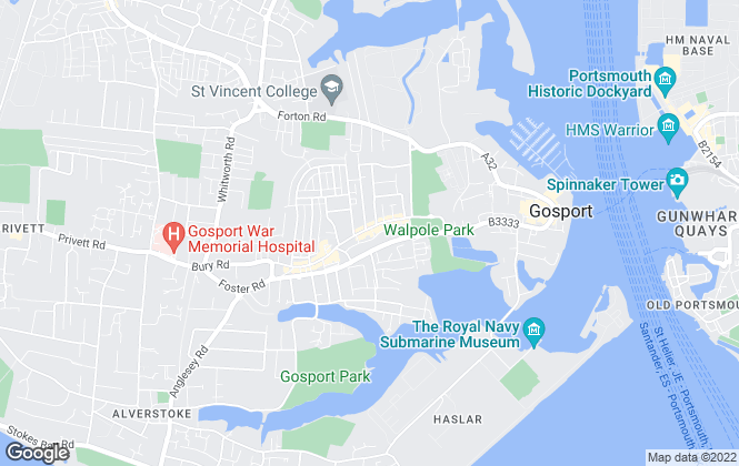 Map for Brite-Move, Gosport