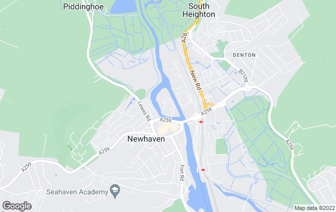 Map for Let Direct Properties Ltd, Newhaven