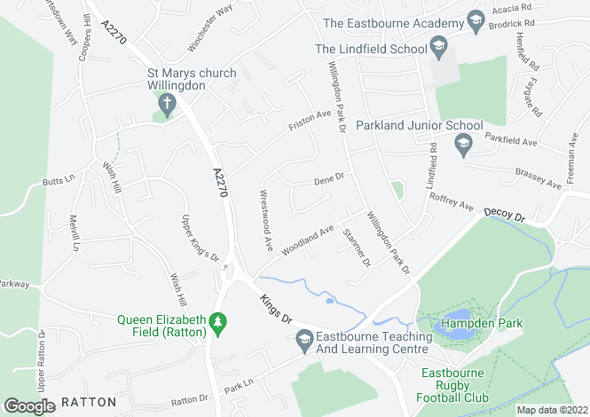 Map for Chatfield Crescent,