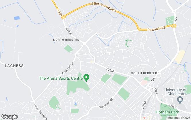 Map for Joe Graham Property Sales, Bognor Regis