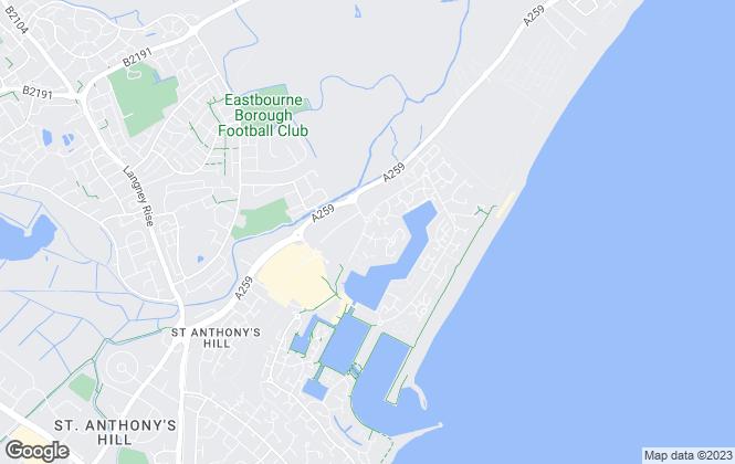 Map for Homes 4 Let Property Services Ltd, Eastbourne