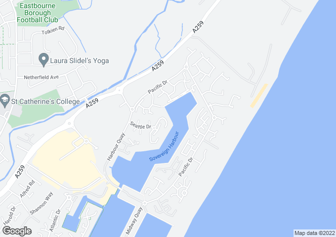 Map for Sovereign Harbour