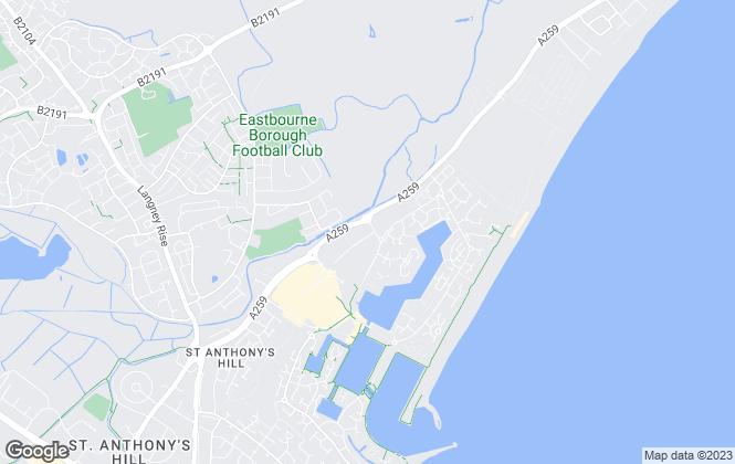 Map for Homesprite, Eastbourne