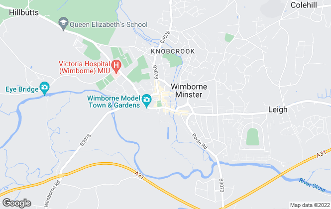 Map for Goadsby, Wimborne