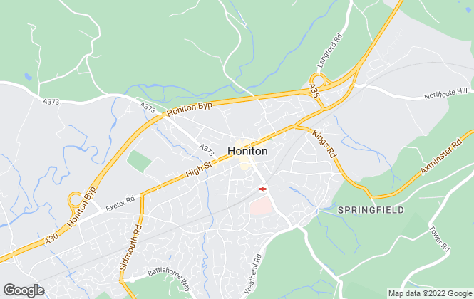 Map for Greenslade Taylor Hunt, Honiton - Lettings