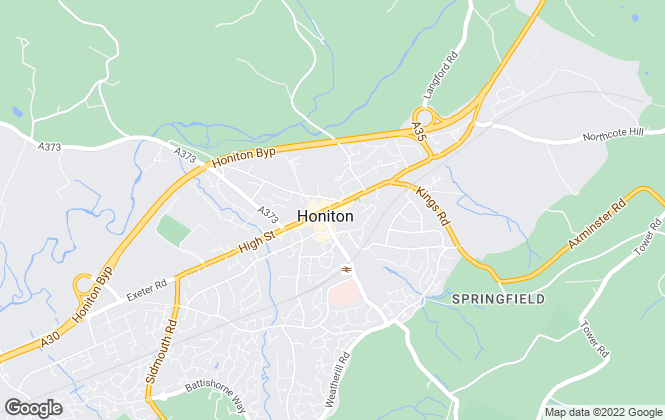 Map for Stags, Honiton (Lettings)