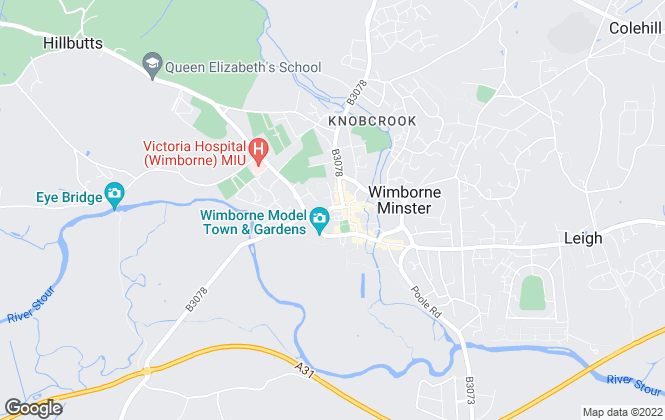 Map for Symonds & Sampson, Wimborne