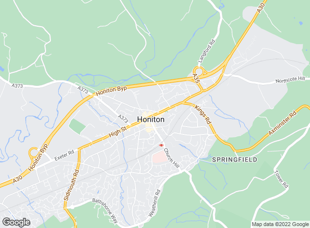 Map for Fulfords Lettings, Honiton - Lettings