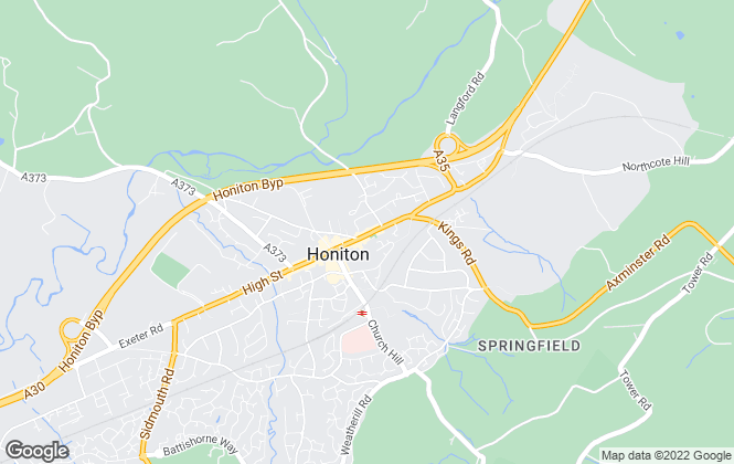 Map for Seddons, Honiton