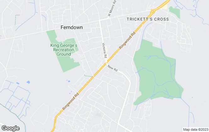 Map for Edwards , Ferndown