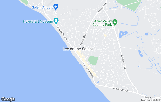 Map for Fenwicks Estate Agents, Lee On The Solent