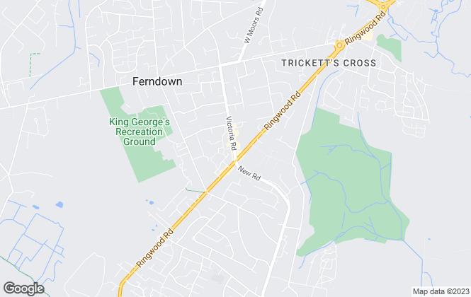 Map for St Quintin Property Group LTD, Ferndown