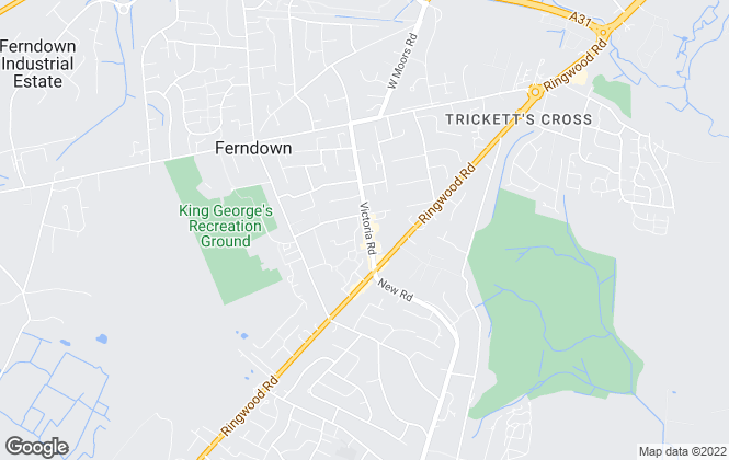 Map for Trowbridges Estates & Letting, Ferndown