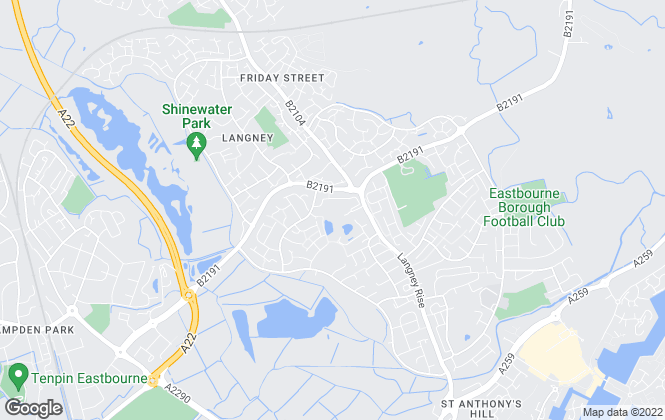 Map for YOUR MOVE, Langney