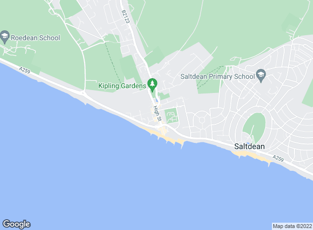 Map for King & Chasemore, Rottingdean