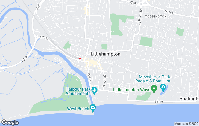 Map for Graham Butt Estate Agents, Littlehampton