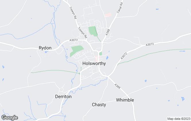 Map for Kivells, Holsworthy - Lettings