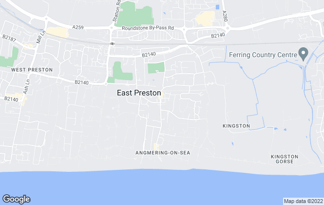 Map for Graham Butt Estate Agents, East Preston