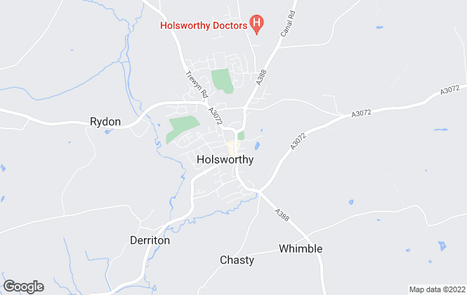 Map for Howes Estates, Holsworthy