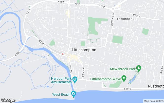 Map for Windward Grove , Littlehampton