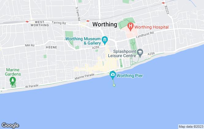 Map for GetAnOffer, UK