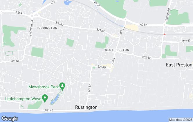 Map for Leaders, Rustington