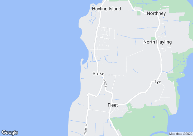 Map for Havant Road, Hayling Island, PO11