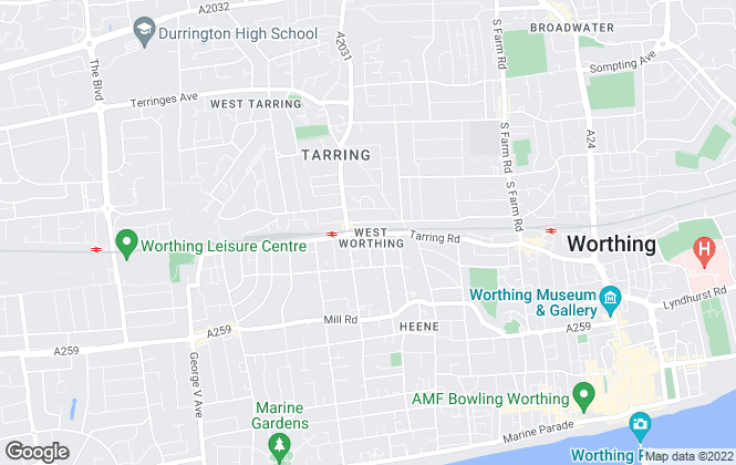 Map for Choices, Worthing