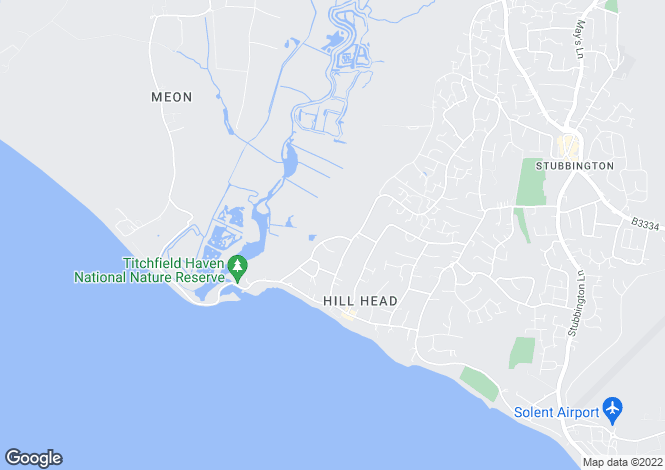 Map for HILL HEAD