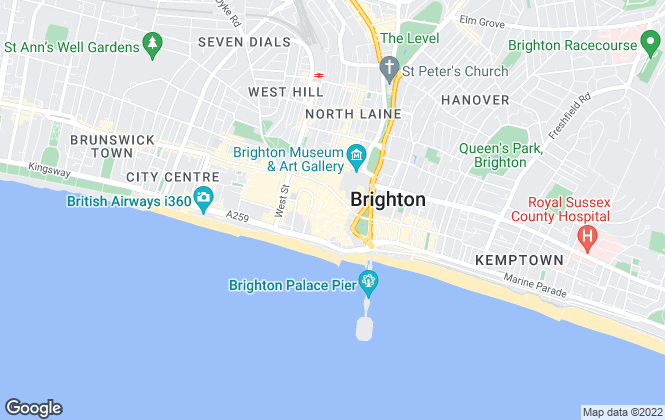 Map for Parkdene Property Services, Brighton