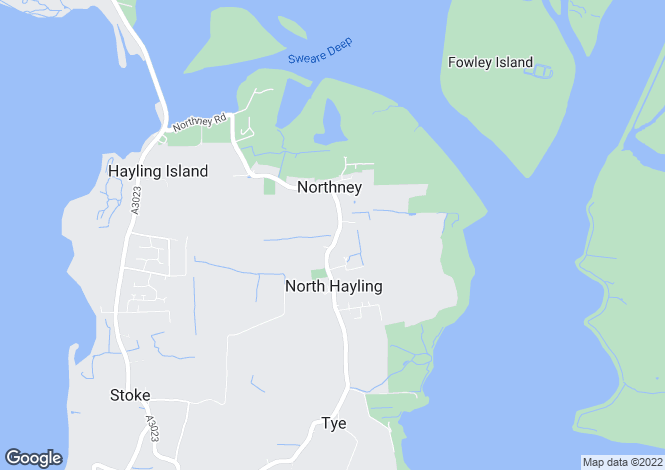 Map for St. Peters Road,