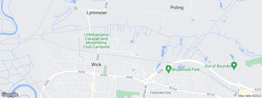 Map for Bovis Homes South East Region