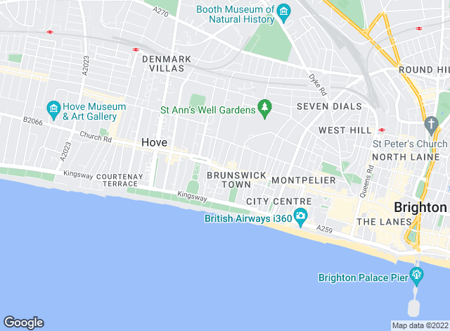 Map for Houseen Lettings & Property Services , Hove