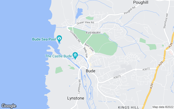 Map for Kivells, Bude - Sales