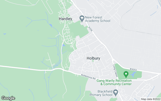 Map for J&R Property specialists ltd, Holbury