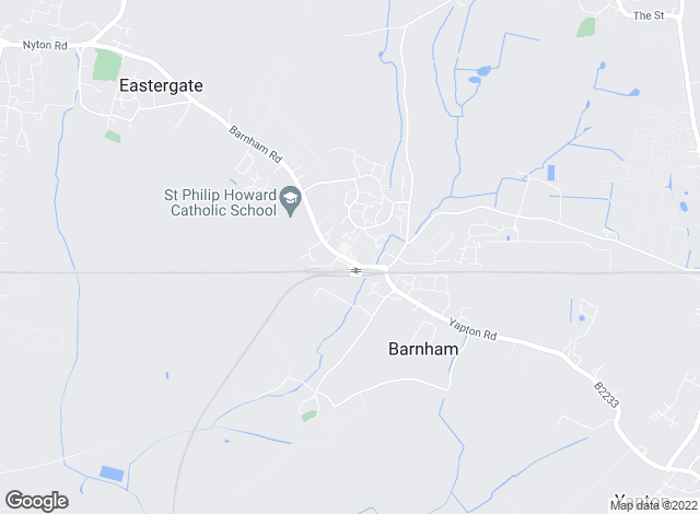 Map for Hobdens, Barnham