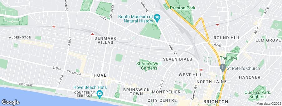 Map for Crest Nicholson Ltd