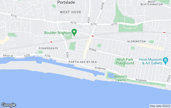 Map for Cales & Co, Hove