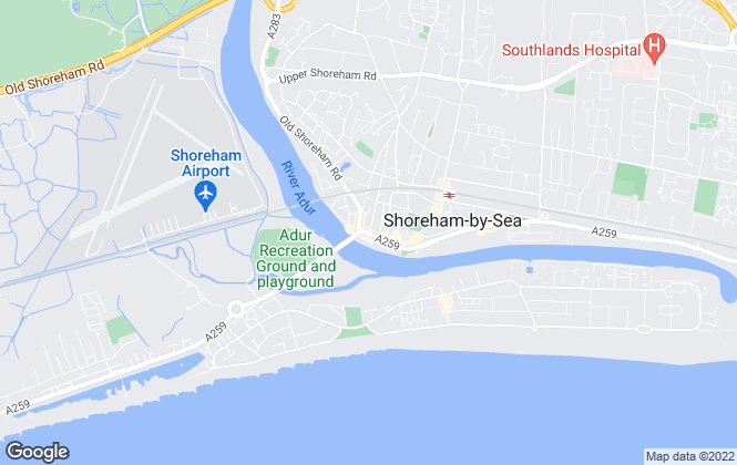 Map for My Lets, Shoreham-By-Sea