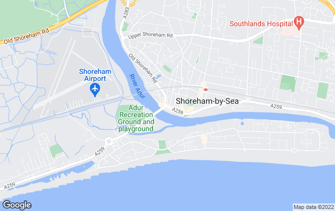 Map for Wedge Estates, Shoreham by Sea