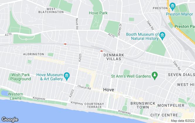 Map for Simply Lettings, Hove