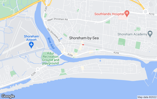 Map for Fox & Sons, Shoreham By Sea