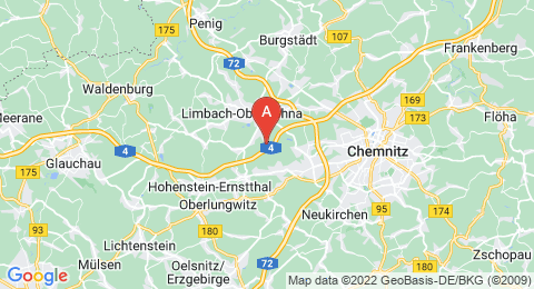map of Totenstein (Germany)